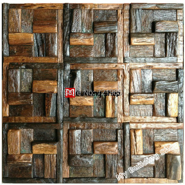 rustic kitchen wall tiles wood mosaic tile rustic wood wall tiles nwmt008 5009