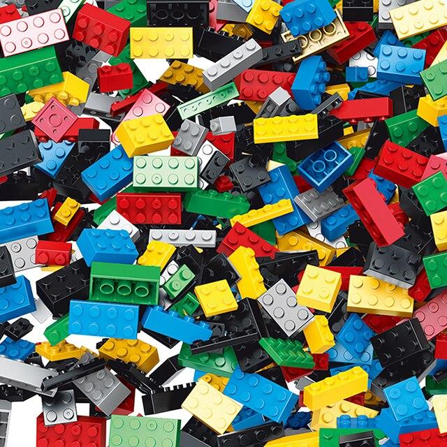 Più Forme Legoed'S Mattoni FAI DA TE 1000 Pz Blocchi di Costruzione Giocattoli Creativi Per Bambini Educational Block Compatibile Con I Principali Marca