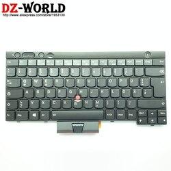 Nowy GR DE niemiecki podświetlana klawiatura dla Thinkpad T430 T430i T430S X230 X230i X230 Tablet T530 T530i W530 podświetlenie Teclado 04X1252