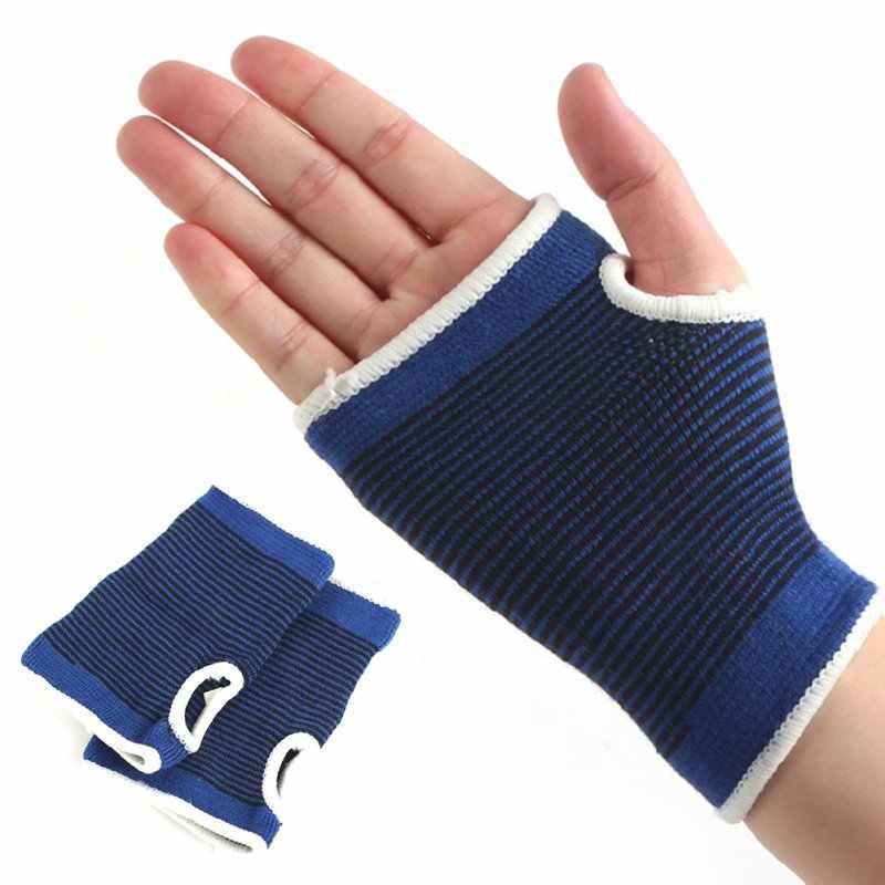 2 х из эластичного неопрена наручные кормящих Поддержка ремешок на руку подтяжка для ладони широкими схваченными у запястья рукавами артрит Тяжелая атлетика защиты браслет J2