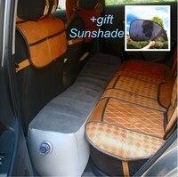 Переносная кроватка автомобильный воздушный матрас, Универсальная автомобильная подушка заднего сиденья воздушной подушке само-Вождение ...