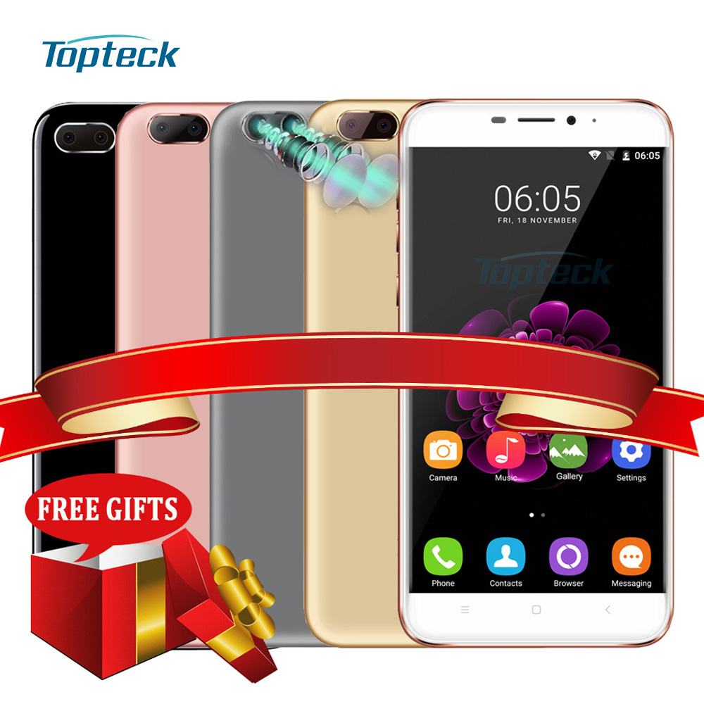 """Цена за OUKITEL U20 Плюс 4 Г Отпечатков Пальцев 5.5 """"FHD 1080*1920 Android Смартфон 6.0 1.5 ГГц MTK6737T Quad Core 2 ГБ + 16 ГБ 13MP Мобильный Телефон"""
