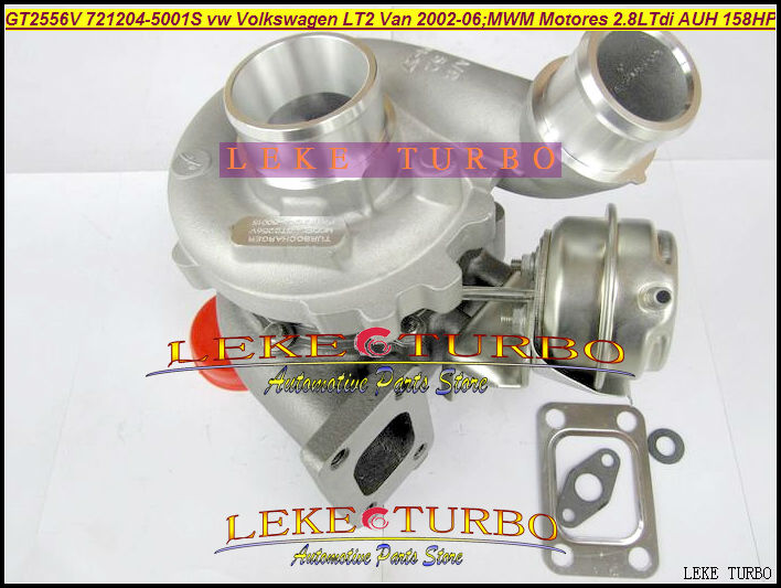 Free Ship GT2556V 721204 721204-5001S 721204-0001 90529201007102 062145701A Turbo For Volkswagen VW LT2 For MWM MOTORES AUH 2.8L image
