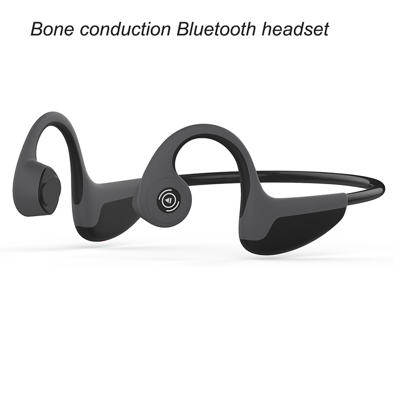 Sports Earphone Waterproof Bluetooth Wireless Bone Conduction Hand-free Headphones Stereo Headset With Mic