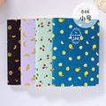 1 Unid Kawaii Wood-en Tarro de Fruta de Papel Kraft Cuaderno EN BLANCO Diario Diario Memos Libreta Vendimia Cuaderno Suave Almohadillas efectos de Escritorio lindos