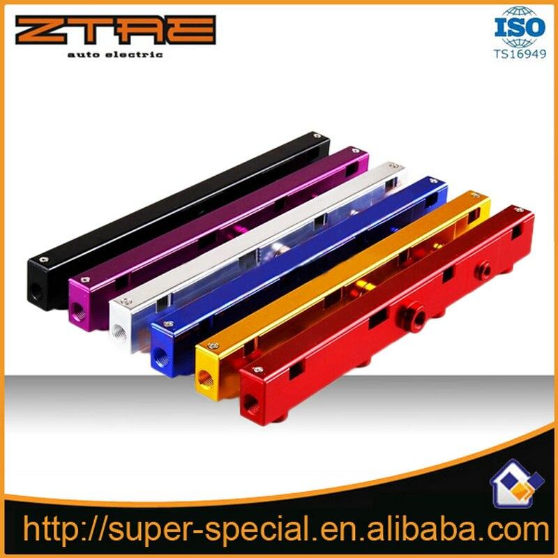 Raci alto volume de alumínio fuel rail kit para honda 02-06 para acura para rsx para k20 k20a2 k20z1 k20a3