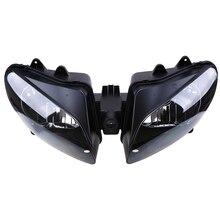 цена на Motorcycle Headlight Assembly Headlamp For Yamaha YZFR1 YZF R1 YZF-R1 2000-2001