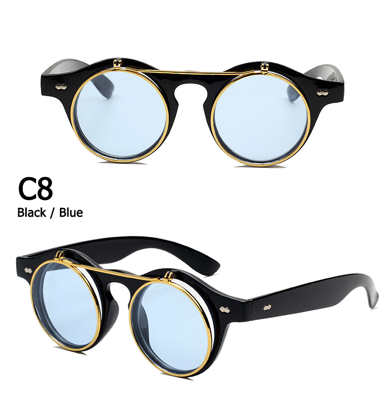 dc343db579   description expanded    Collapse     See more   . Similar products. See  more · SPLOV Vintage Steampunk Flip Up Men Sunglasses Women Retro Round ...