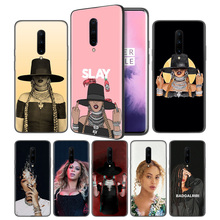 Beyonce Soft Black Silicone Case Cover for OnePlus 6 6T 7 Pro 5G Ultra-thin TPU Phone Back Protective