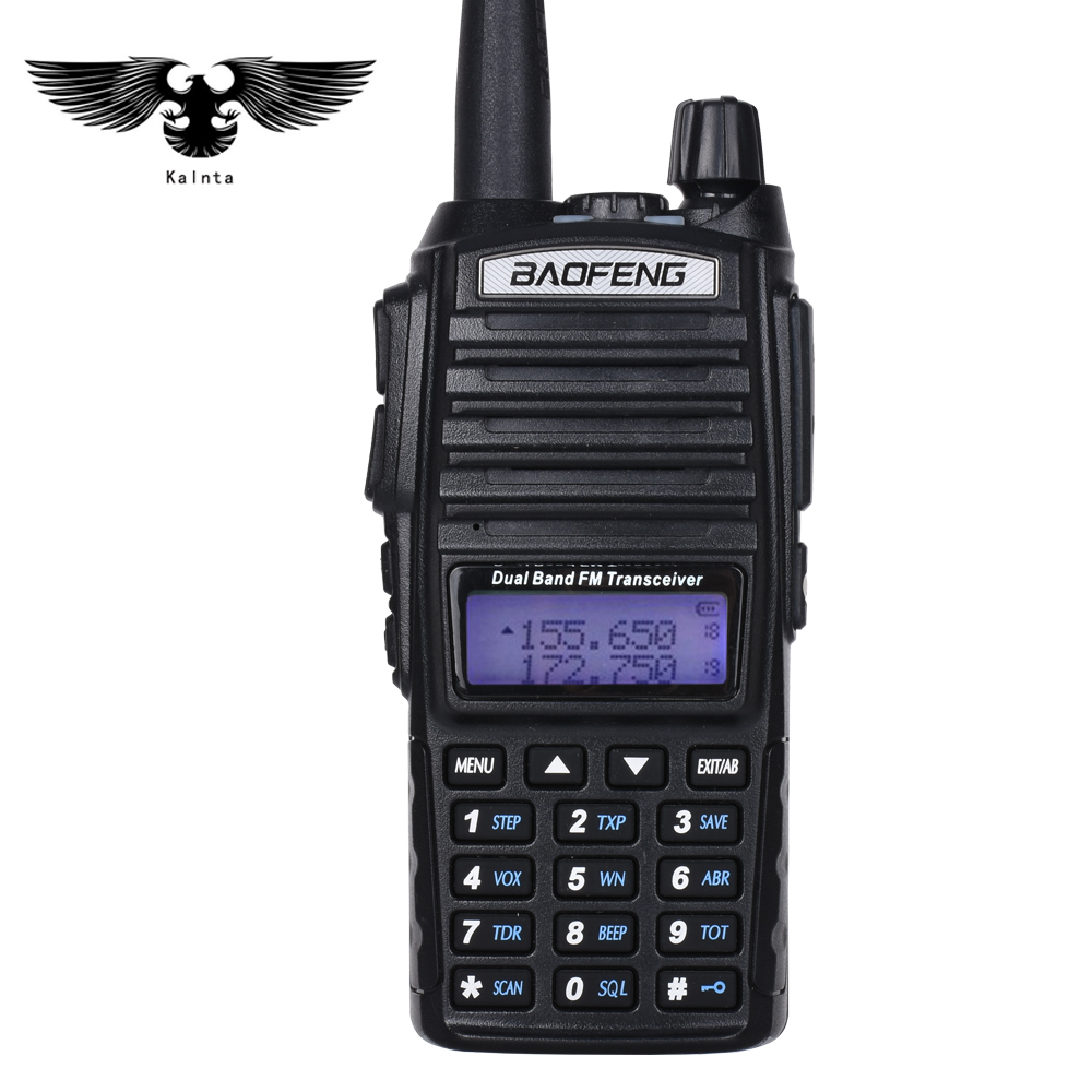 BAOFENG UV-82 Walkie Talkie Dual Band VHF UHF Portable Two Way Radio CB Radio FM Radio Transceiver 5 watt handphone intercom