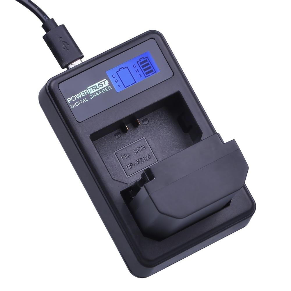 1x 2280mAh NP-FZ100 NPFZ100 NP FZ100 Battery + LCD Dual USB Charger for Sony BC-QZ1 Alpha 9 9R A9R 9S ILCE-9 A7R A7 III ILCE-7M3 durapro 4pcs np f970 np f960 npf960 npf970 battery lcd fast dual charger for sony hvr hd1000 v1j ccd trv26e dcr tr8000 plm a55