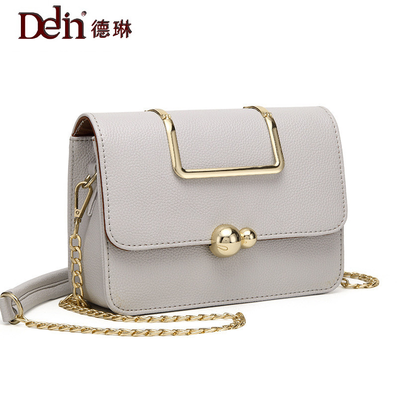 DELIN Manufacturers selling 2017 new  chain diagonal fashion handbags handbag Crossbody Bag Lady all-match perfect selling 2016 new korean chain diagonal fashion handbags handbag crossbody bag lady all match free shipping