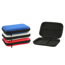 160x110x35mm External Battery Cases Portable EVA Mobile Phone cases Power bank Storage Case Shockproof  Carrying Bags