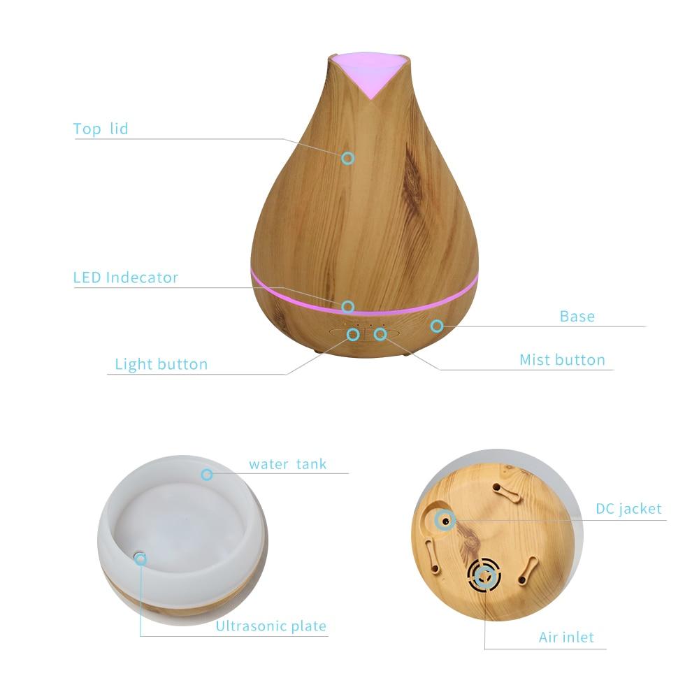 Aromacare530ml razprševalnik eteričnega olja, ultrazvočni - Gospodinjski aparati - Fotografija 3