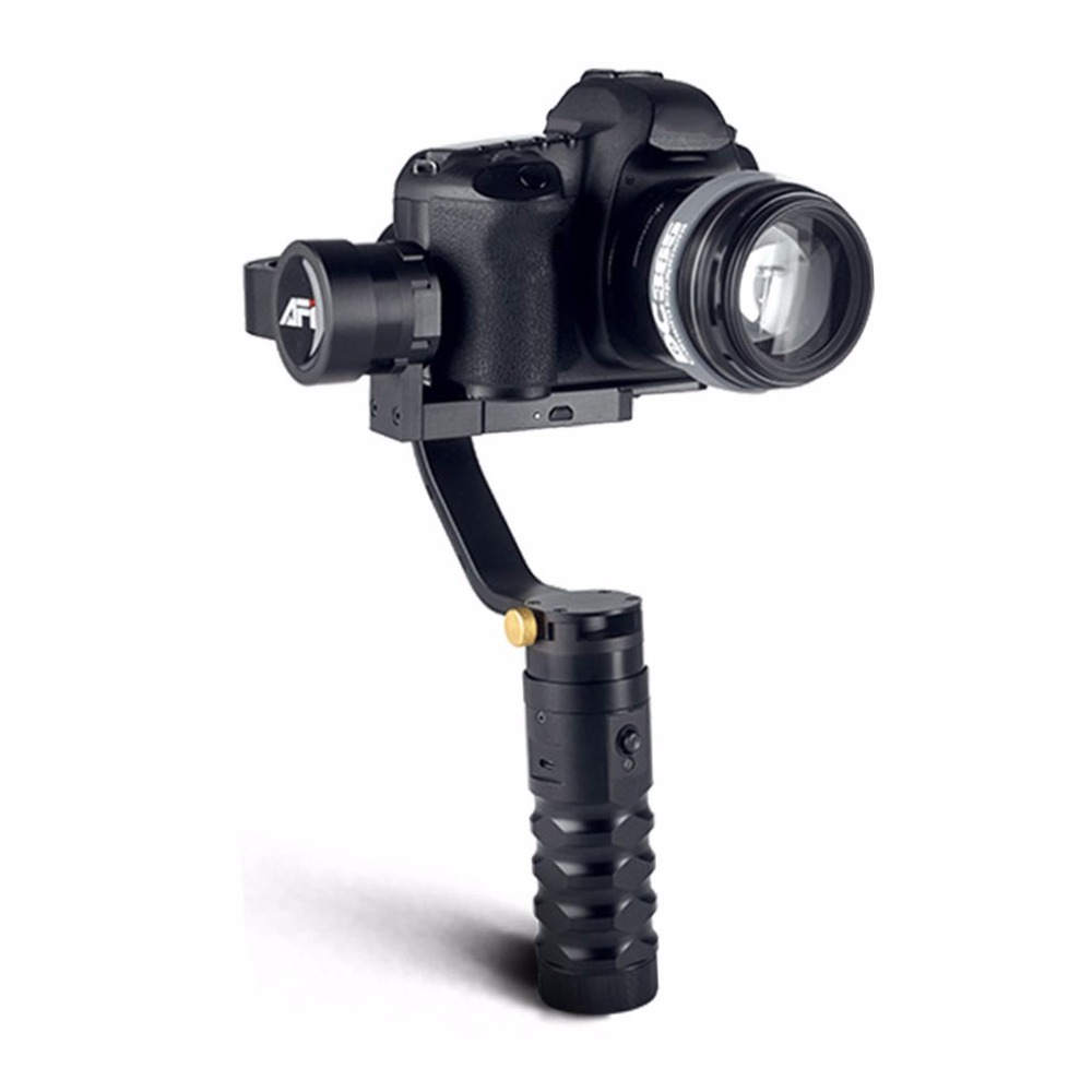 где купить AFI VS-3SD Brushless Handheld 3-Axle Steady Gimbal Stabilizer for Canon 5D 6D 7D for GH4 DSLR Cameras дешево
