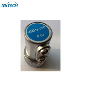 4 MHz 10mm podwójny proste wiązki sondy F10 przetwornik tanie i dobre opinie 4MHz 10mm F10 MiTeCH Dual Straight Beam Probe