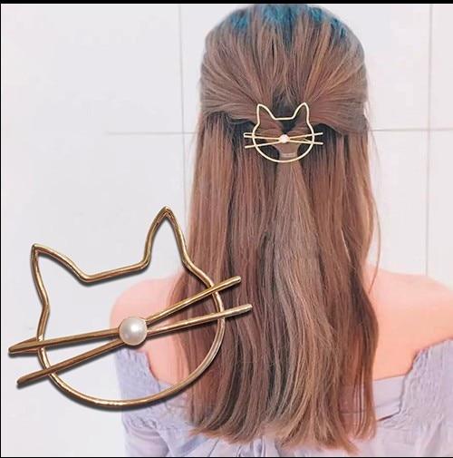 1 Pc Metal Cute Bee Hair Clips Girls Hair Grips Barrettes Hairpin For Women Hair Accessories Girl's Hair Accessories Girl's Accessories