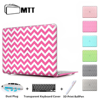 White Outline Black Air 11 13 Print Clear Case Cover Shell For Macbook Laptop Sleeve Apple