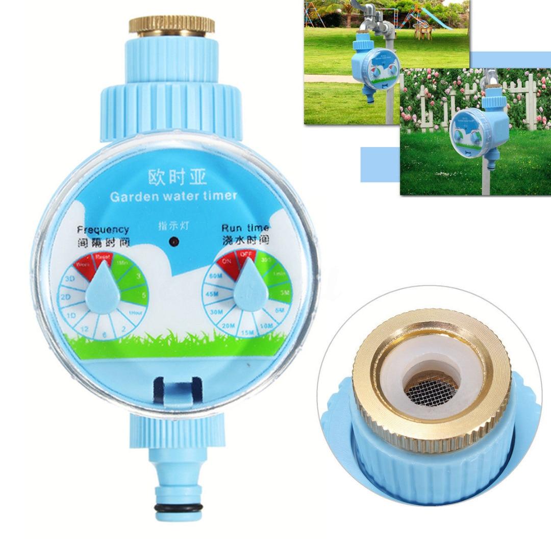 JX-LCLYL válvula de esfera jardim automático eletrônico água torneira controlador irrigação temporizador