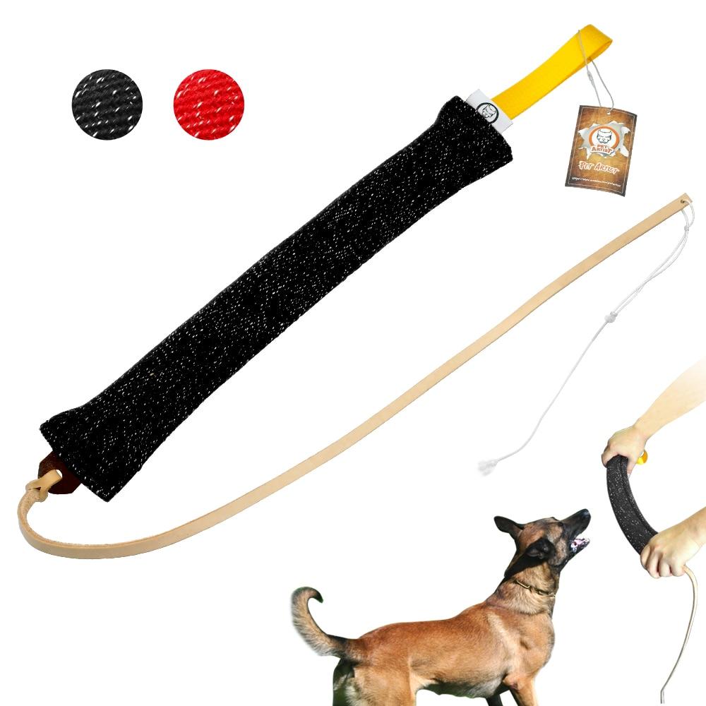 Dog Tug Toy Agility: Dog Training Bite Tug Pet Dog Chewing Training Equipment