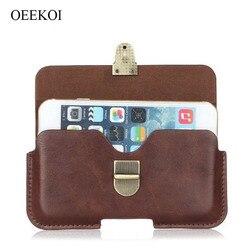 На Алиэкспресс купить чехол для смартфона oeekoi pu leather belt clip pouch cover case for asus 6z/rog phone/pegasus 4s/pegasus 4
