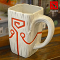 DOTA 2 TI4 Accessory Juggernaut Jugg Mask pendant Ceramic Mug Coffee Cup for collection