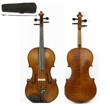 beginner Violin 4/4 Full Size Natural Acoustic Fiddle With Case Bow Rosin spruce Body 4 Stringed Instrument handmade new top model art 5 strings red 4 4 electric violin streamline case rosin bow included string instrument