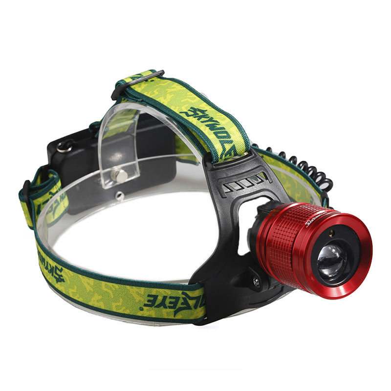 2000LM Red Laser LED Headlamp Waterproof Outdoor Sports Camping Fishing Head Lamp Flashlights Headlight
