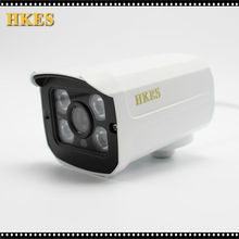 HKES Newest Security Camera CCTV 4PCS Array LED Waterproof Outdoor Surveillance AHD Camera FULL HD 1080P