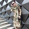 Вниз куртка хлопка ватник женщин зимнее пальто теплую одежду женщины Х-долго вниз хлопка ватные зимняя куртка женщина TT316