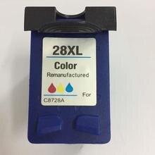 Vilaxh 1pcs 28xl color compatible for hp 28 ink cartridge replace Deskjet 3320 3323 3325 3420 3535 355 01110 1210 printer