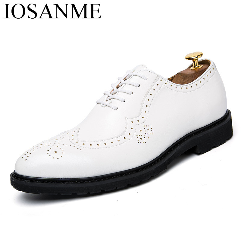 formal italian leather men shoes luxury brand male dress elegant footwear office work flats designer brogue oxford shoes for men tp c 2