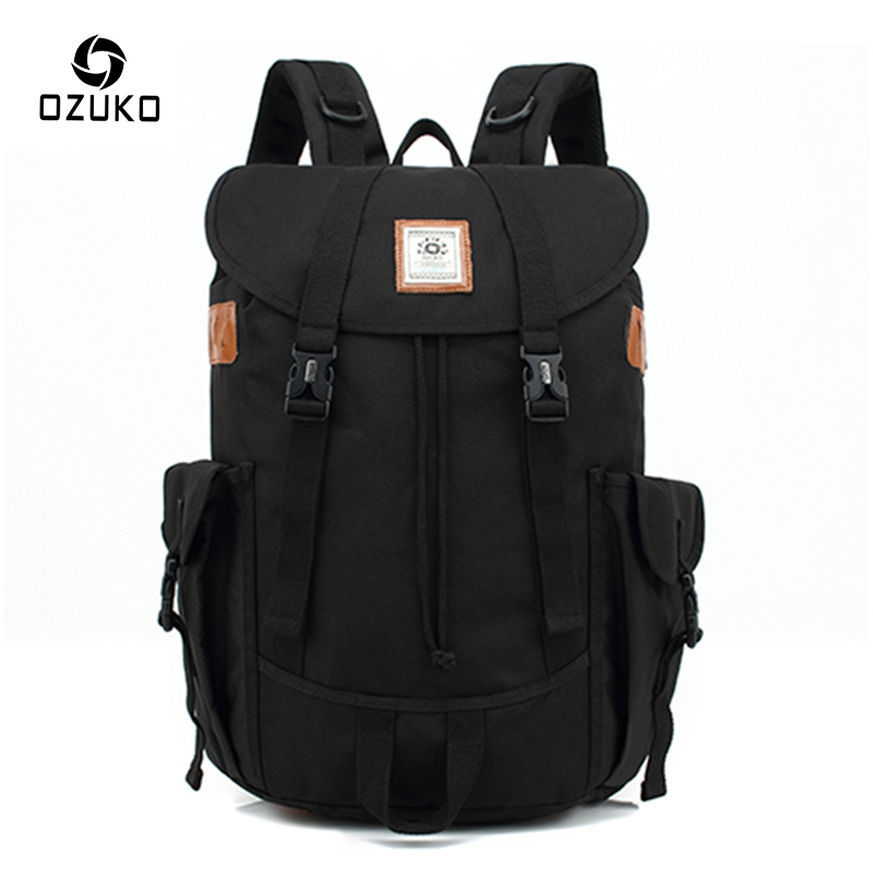 OZUKO New Style Multifunctional Travel Backpack Brand Men Backpacks Laptop Bag Mochila Fashion Large Capacity Student School Bag 2017 new masked rider laptop backpack bags cosplay animg kamen rider shoulders school student bag travel men and women backpacks