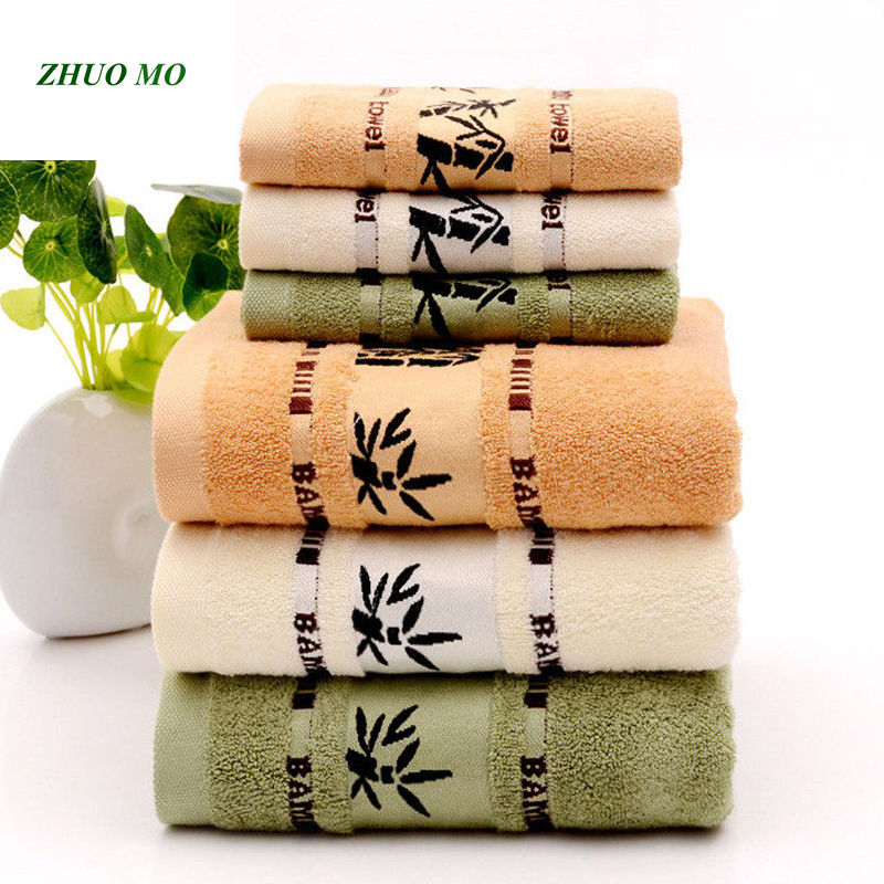 ZHUO MO Super Absorbent Bath Towels For Adults Large Summer Bathroom Body Spa Sports Luxury Bamboo Face Beach Towel 140x70cm
