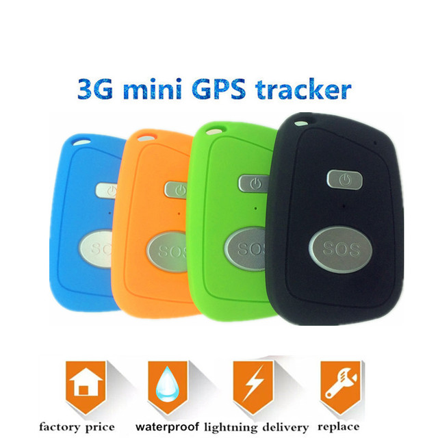 mini 3g gps trackers sos gsm personal tracker for kids elderly track