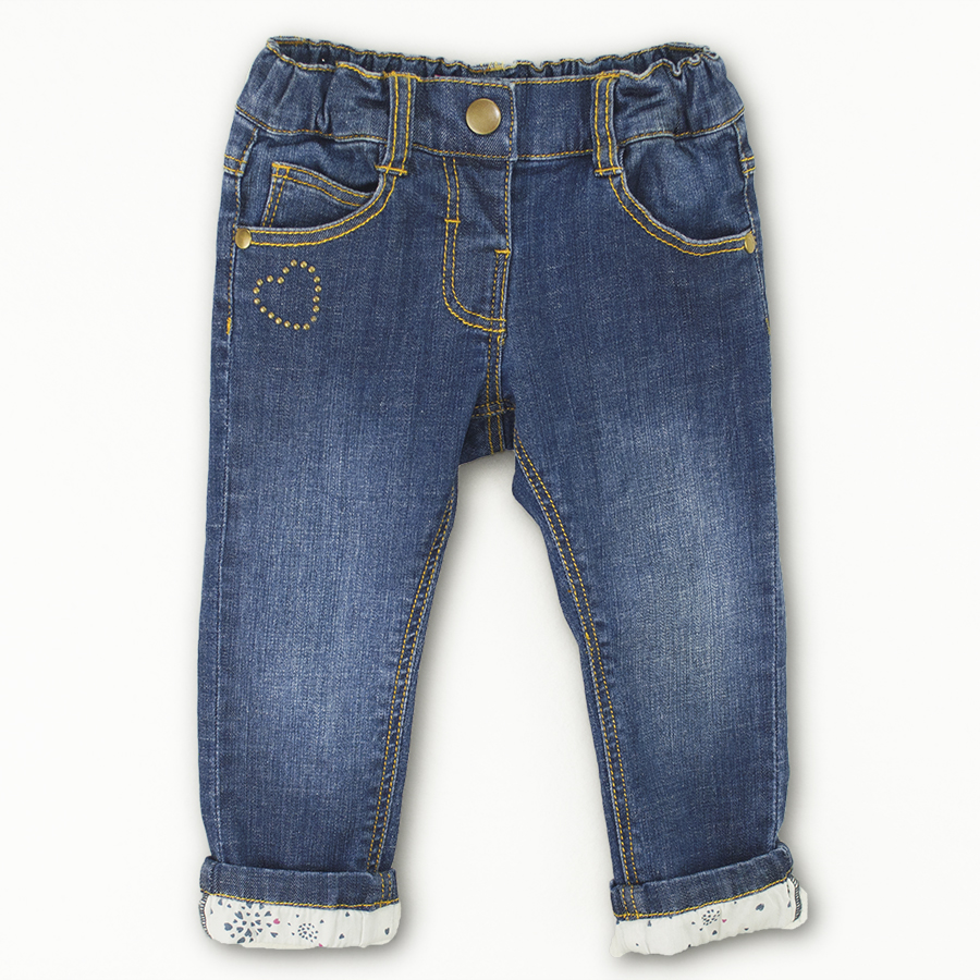 Infant Baby Boys&Girls Denim Jeans Newborn Kids Girls Love ...