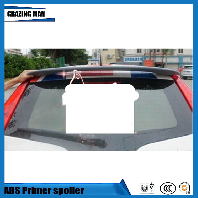 Nouvelle conception ABS apprêt couleur non peinte aileron de toit arrière adapté pour MG3