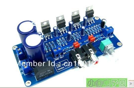 TDA2030A single power supply BTL power amplifier  kit (can Power by AC or DC )    #Li-13