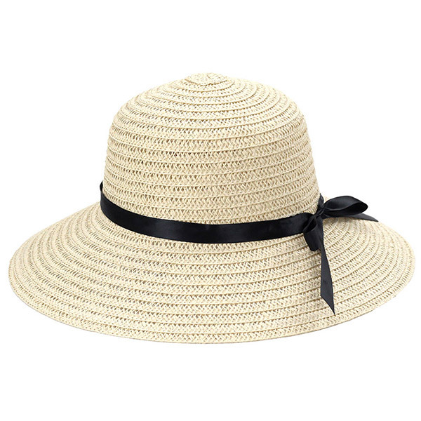 Hats Women Wide Large Brim Floppy Summer Beach Sun Hat Straw Hat ... e4efed73dcf3