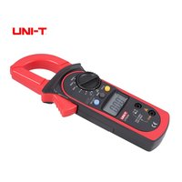 UNI T UT202A 2000 Counts Digital Handheld Clamp Multimeter Voltmeter with Auto Range DC/AC Voltage Current Diode Ohm Tester