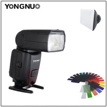 Yongnuo YN860Li Universale Wireless Master Slave Flash Speedlite batteria al litio Flash Light per Nikon Canon D5300 D7100 D7200