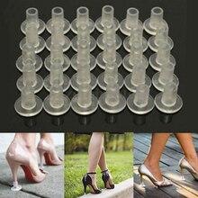 1 пар Защитные туфли на высоком каблуке Латинский стилет Танцевальные чехлы Стопорные каблуки Против