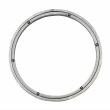 In acciaio inox tabla giratoria girevole supporto di base piastra di base girevole giratoria tabella di sollevamento tavola rotante diametro 38 50CM
