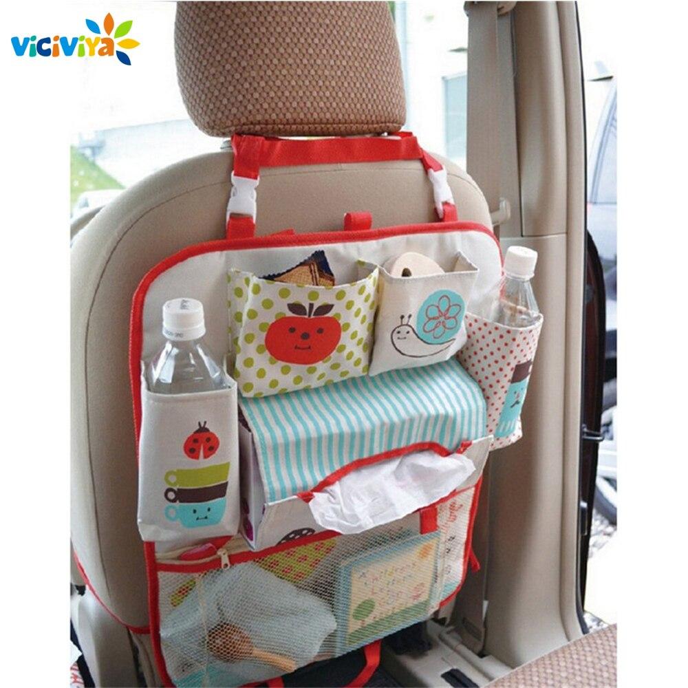 Child Seat Car Bag Waterproof Universal Baby Stroller Bag Organizer In Baby Car Hanging Basket Storage Stroller Accessories защитный детский шлем
