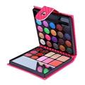26 Cores de Sombra Natural À Prova D' Água Compõem Blush em Pó Sobrancelha Sombra de Olho Paleta de Maquiagem Cosméticos PU Acessórios de Beleza