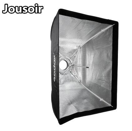 Godox 60*90cm Rectangular Strip Umbrella Easy Open Quick Softbox for Bowens Interchangeable Fitting No00dc текстиль для фонового оформления 60 90cm