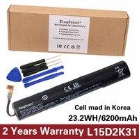 KingSener Korea Cell L15D2K31 Tablet Battery for LENOVO YOGA 3 850M Yt3 850F YT3 850 YT3 850M YT3 850L L15C2K31 3.75V 6200mAh