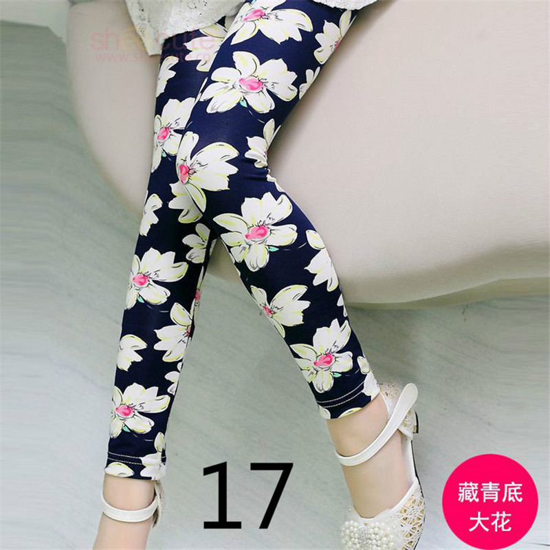 Baby Kids Leggings For Girls Skinny Pencil Pants 2018 Spring Autumn Summer Trousers Children Clothing 4 6 8 10 12 Years ddk017 цена 2017