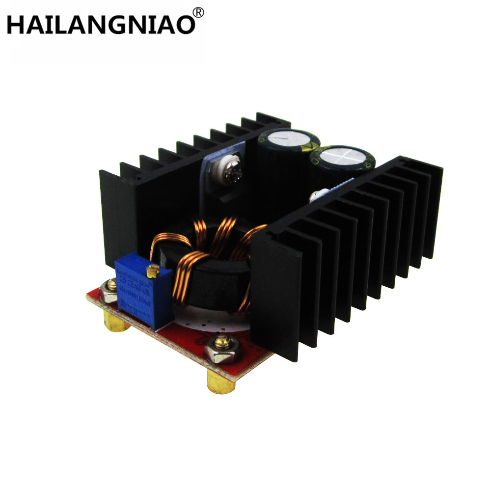 1PCS/LOT 150W Boost Converter DC to DC 10-32V to 12-35V Step Up Voltage Charger Module 1pcs 1500w 30a dc dc cc cv boost converter step up power supply charger adjustable dc dc booster adapter 10 60v to 12 90v module