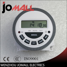 24 Hours 7 Days TM619 Digital Programmable Timer Switch 220V 16A 4Pin Internal Battery Automatic Gate
